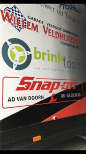 """Nieuwe sponsor  """"Snap-on Tools Ad van Doorn """""""