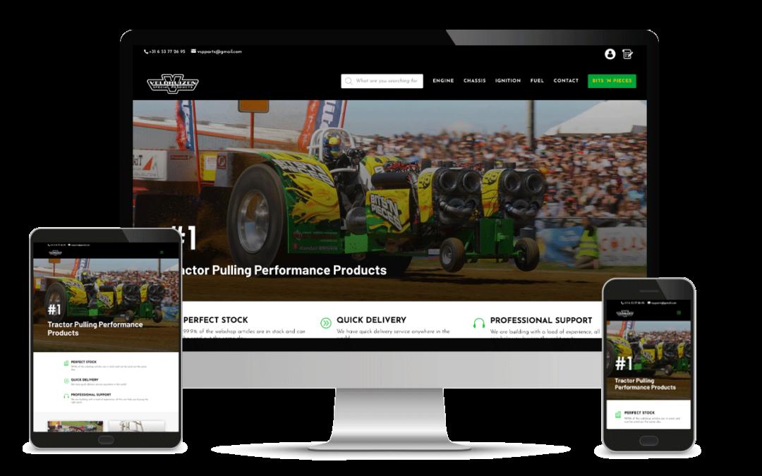 Nieuwe webshop voor VSP!