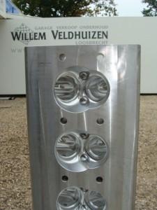 VSP cilinder Head-  Dual spark plugs